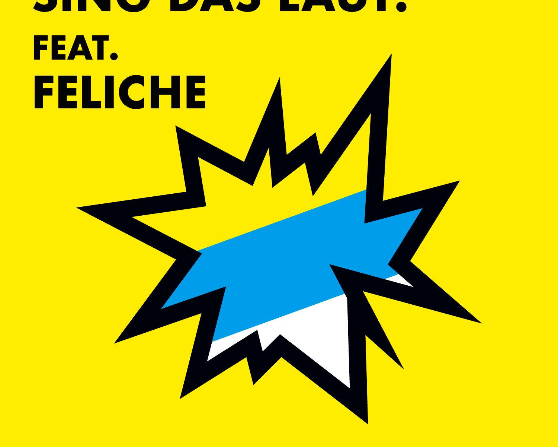 SING DAS LAUT! Der Kinderchor feat. Feliche Chillen im Sand Cover Artwork DER Sommersong 2017